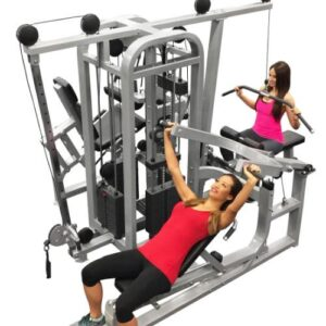 Compact 4 Stack Light Commercial Multi Gym